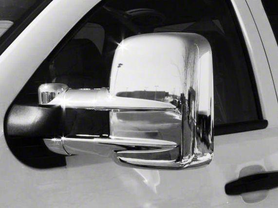 Putco Chrome Mirror Covers (07-15 Silverado 1500 w/ Towing Mirrors)