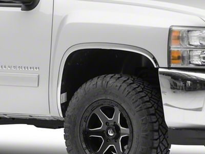 Putco Stainless Steel Fender Trim - GM Licensed (07-13 Silverado 1500)