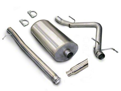 dB Performance by Corsa 3 in. Sport Single Exhaust System w/ Polished Tip - Side Exit (07-13 4.8L Silverado 1500)