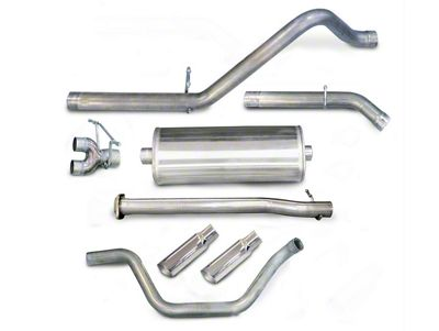 dB Performance by Corsa 3 in. Sport Dual Exhaust System w/ Polished Tips - Rear Exit (07-13 5.3L Silverado 1500)