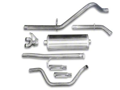 dB Performance by Corsa 3 in. Sport Dual Exhaust System w/ Polished Tips - Rear Exit (10-13 6.0L Hybrid Silverado 1500)