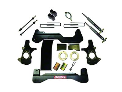 SkyJacker 6 in. Standard Suspension Lift Kit w/ Shocks (07-13 4WD Silverado 1500)