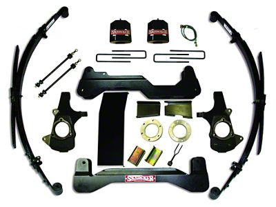 SkyJacker 6 in. Standard Suspension Lift System w/ Shocks (07-13 4WD Silverado 1500)