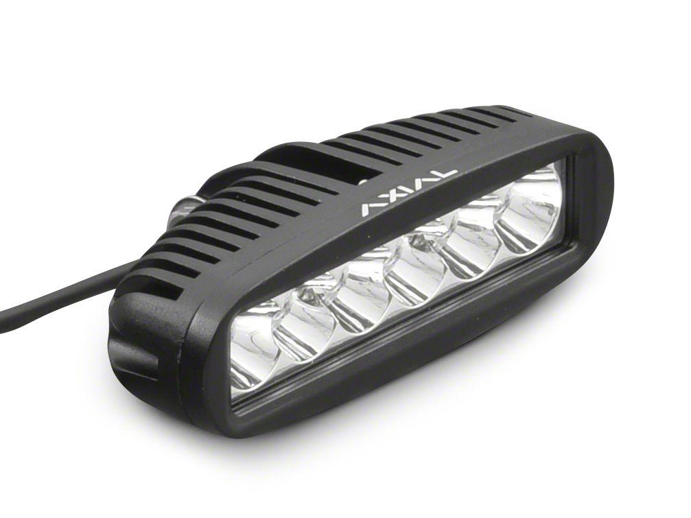 Axial 6 in. 6-LED Rectangular Light - Spot Beam