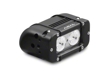 Axial 5 in. 2-LED Rectangular Light - Flood Beam