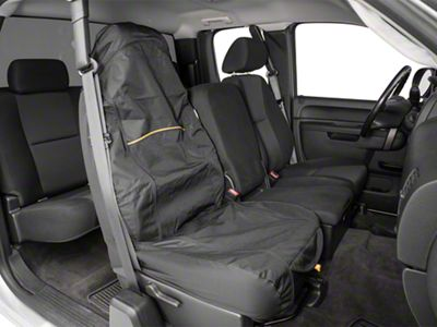 Kurgo Co-Pilot Bucket Seat Cover - Black (07-18 Silverado 1500)
