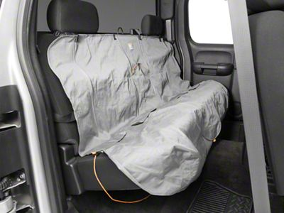 Kurgo Wander Rear Bench Seat Cover - Charcoal (07-18 Silverado 1500 Extended/Double Cab, Crew Cab)