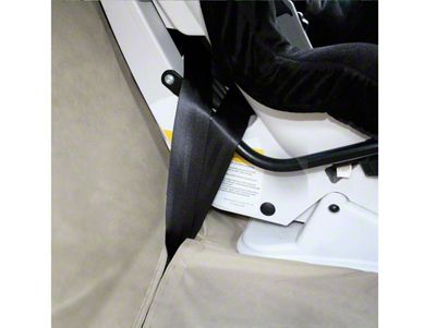 Kurgo Extended Width Wander Rear Bench Seat Cover - Hampton Sand - 63 in. wide (07-18 Silverado 1500 Extended/Double Cab, Crew Cab)