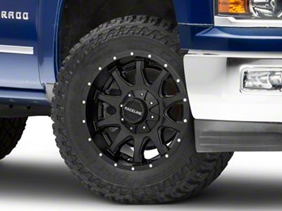Raceline Shift Black 6-Lug Wheel - 20x12 (99-18 Silverado 1500)