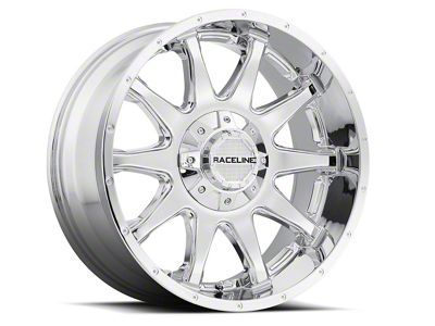 Raceline Shift Chrome 6-Lug Wheel - 20x12 (99-18 Silverado 1500)