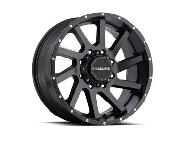 Raceline Twist Black 6-Lug Wheel - 20x12 (99-18 Silverado 1500)