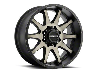Raceline Shift Black Machined w/ Dark Tint 6-Lug Wheel - 20x12 (99-18 Silverado 1500)