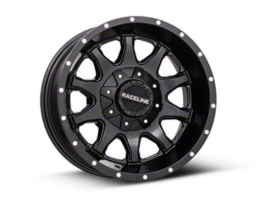 Raceline Shift Black 6-Lug Wheel - 17x9 (99-18 Silverado 1500)