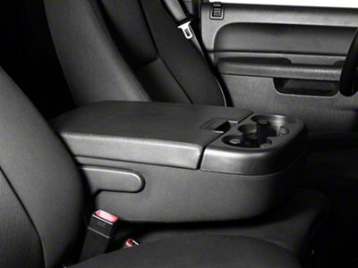 Alterum Center Console Top Lid - Black (07-13 Silverado 1500 w/ Bench Seat)