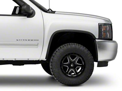 Stainless Steel Fender Trim - Matte Black (07-13 Silverado 1500)