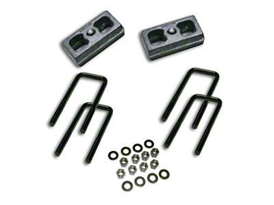 SuperLift 1.5 in. Rear Lift Block Kit (07-18 Silverado 1500)