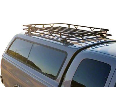 Garvin Off-Road Series Track Rack (99-18 Silverado 1500 w/ Camper Shell)