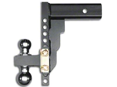 Husky 2 in. Receiver Adjustable Ball Mount - 10 in. Drop Hitch (99-18 Silverado 1500)
