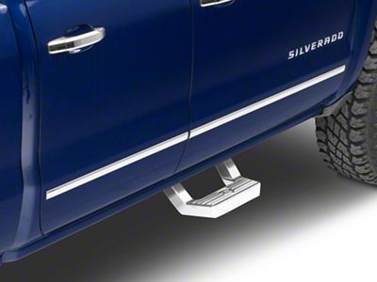 Carr LD Steps - Polished (99-18 Silverado 1500)