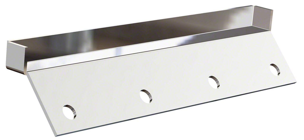 Carr Roof Gutterless Mount Kit - Stainless Steel (14-18 Silverado 1500)