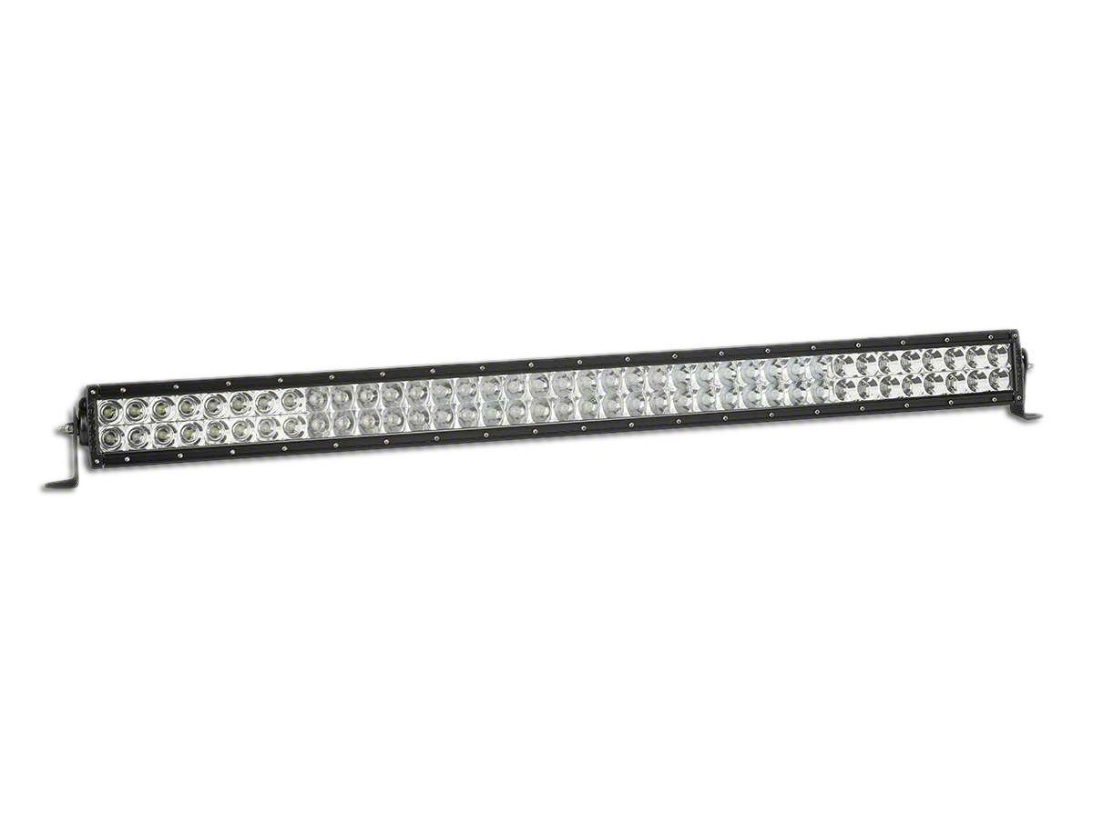 Rigid Industries 38 in. E-Series Amber & White LED Light Bar - Flood/Spot Combo