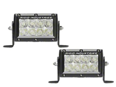 Rigid Industries 4 in. E-Mark E-Series LED Light Bars - Spot Beam - Pair