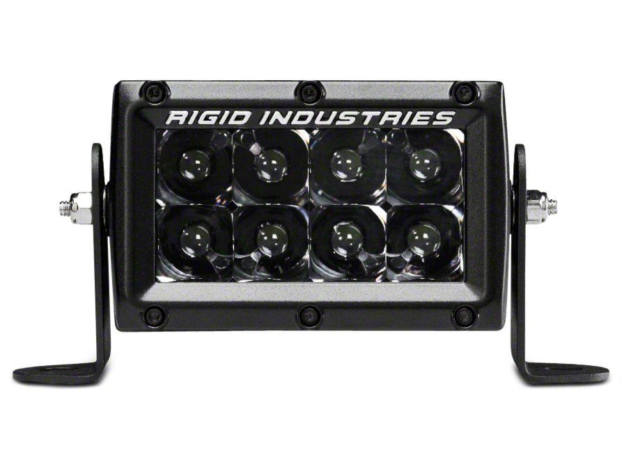 Rigid Industries 4 in. E-Series Midnight Edition LED Light Bar - Spot Beam