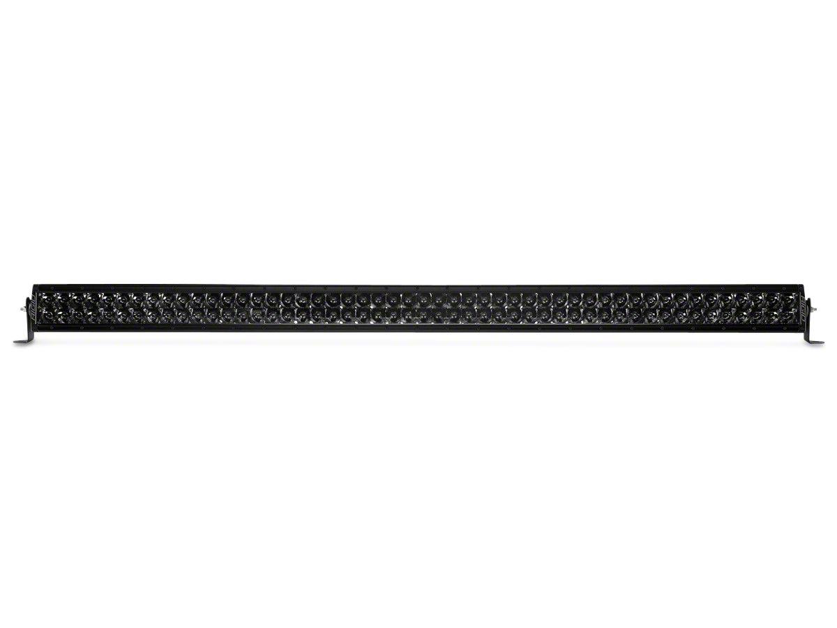 Rigid Industries 50 in. E-Series Midnight Edition LED Light Bar - Spot Beam