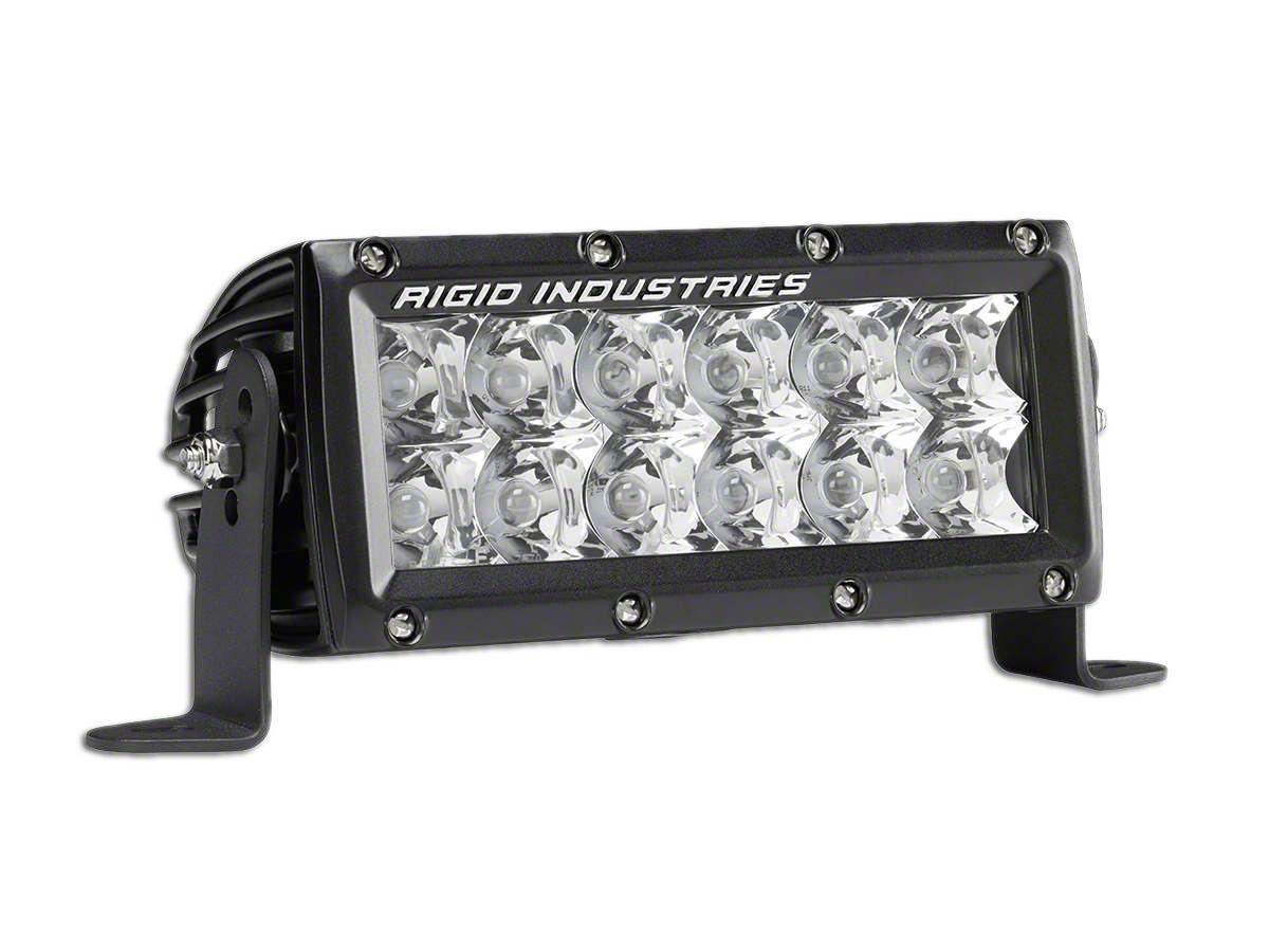 Rigid Industries 6 in. E-Mark E-Series LED Light Bar - Spot Beam