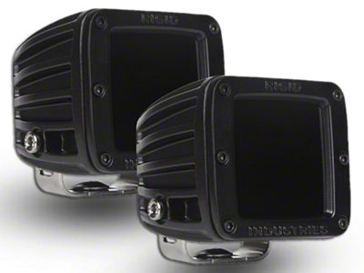 Rigid Industries Dually Infrared LED Cube Lights - Spot Beam - Pair