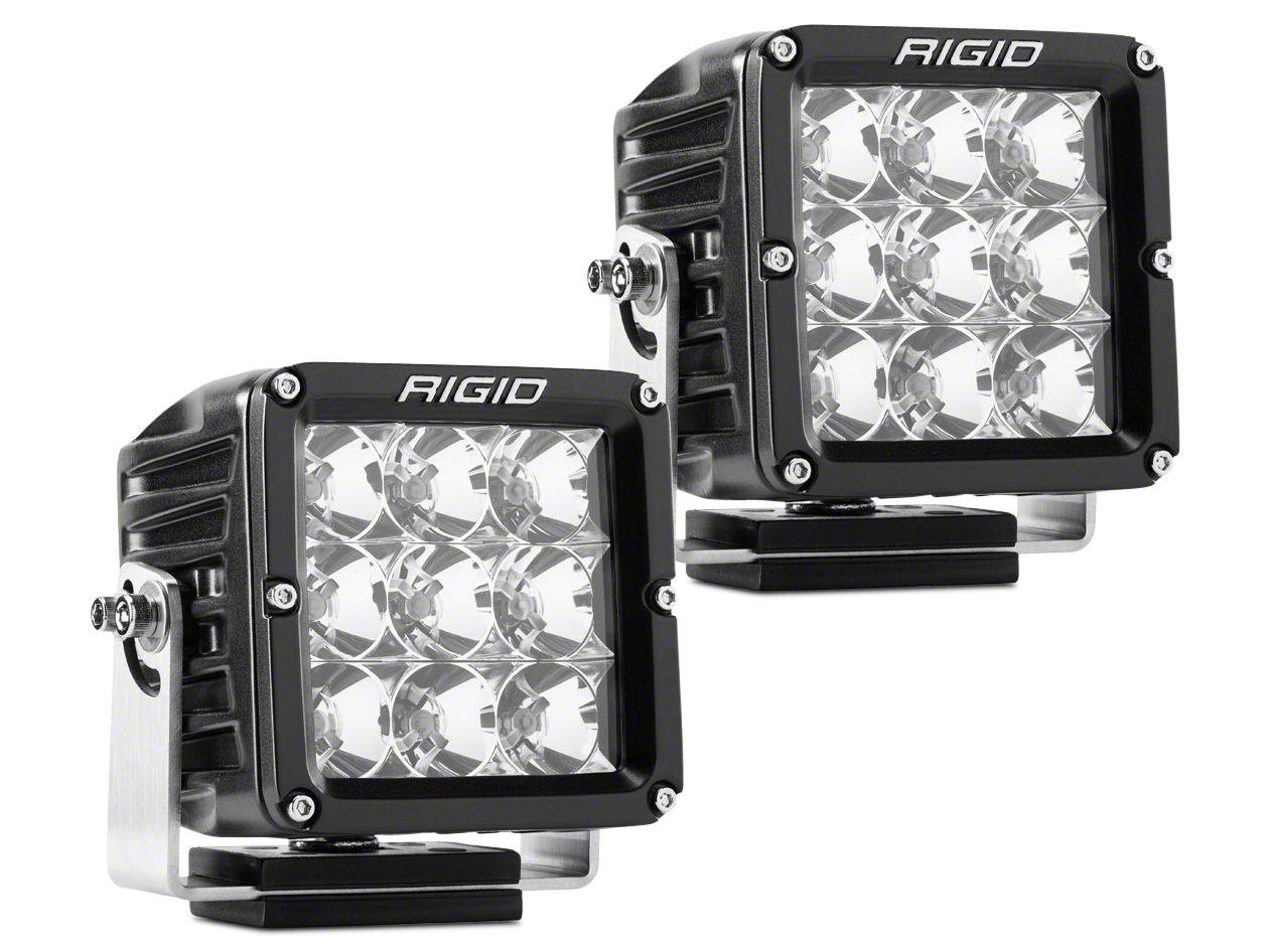 Rigid Industries Dually XL Series LED Cube Lights - Flood Beam - Pair