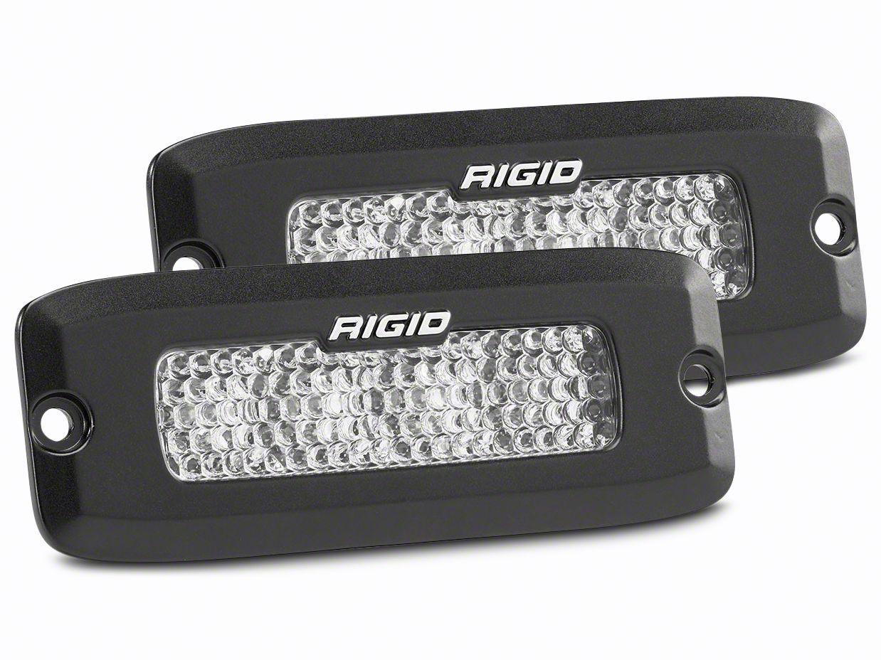 Rigid Industries SR-Q Series LED Light Bars - 60 Deg. Diffused Beam - Pair