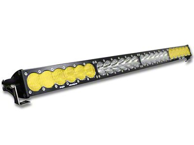 Baja Designs 40 in. OnX6 Amber/White LED Light Bar - Dual Control
