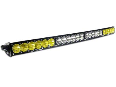Baja Designs 40 in. OnX6 Arc Amber/White LED Light Bar - Dual Control