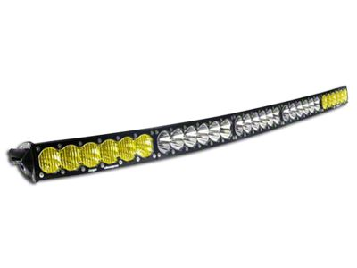 Baja Designs 50 in. OnX6 Arc Amber/White LED Light Bar - Dual Control
