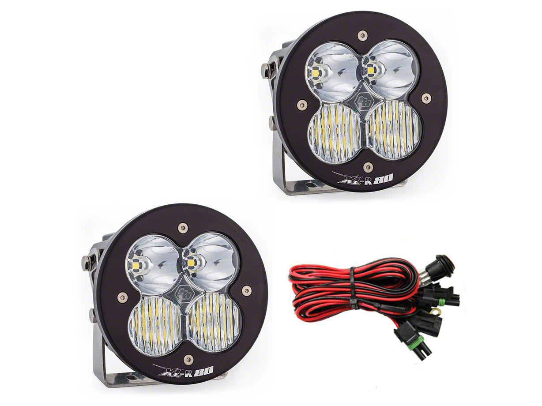 Baja Designs XL-R 80 LED Lights - Driving/Combo Beam - Pair