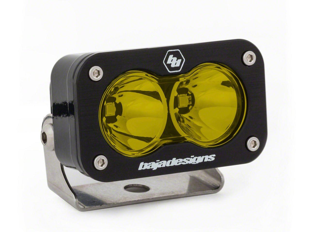 Baja Designs S2 Pro Amber LED Light - Flood/Work Beam