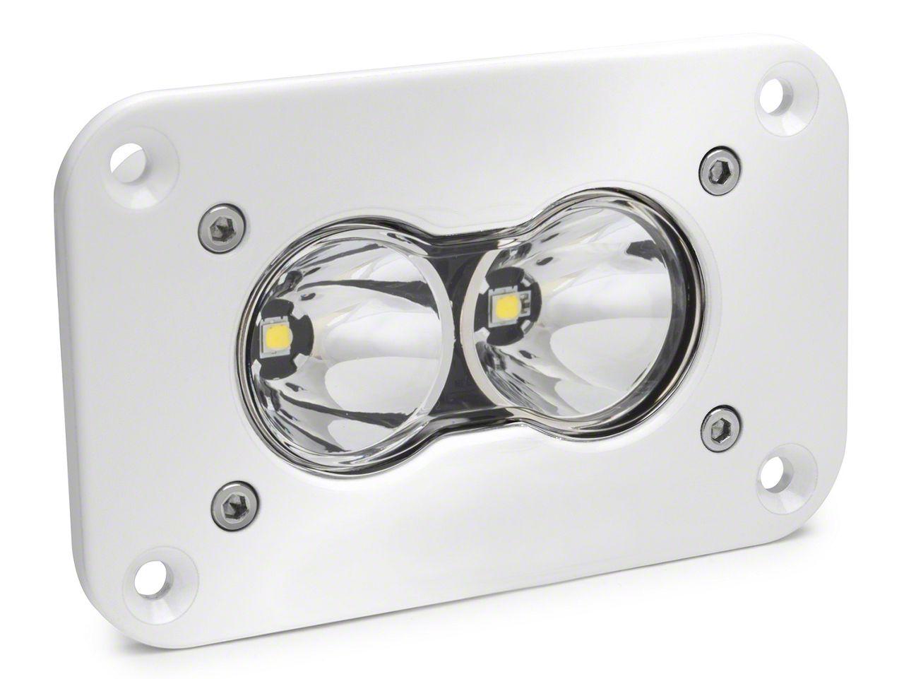 Baja Designs S2 Pro White Flush Mount LED Light - Flood/Work Beam