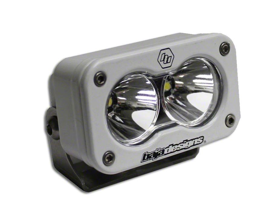 Baja Designs S2 Pro White LED Light - Flood/Work Beam