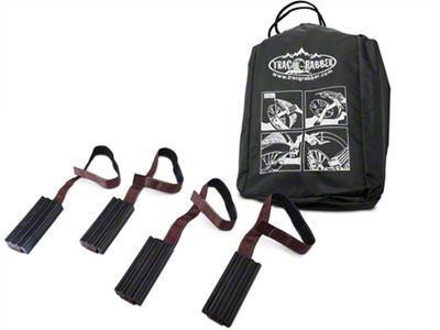 Trac-Grabber Oversized Tire Traction Mounts - Set of Four