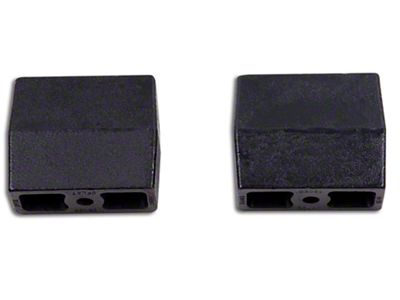 Zone Offroad 5 in. Flat Rear Lift Blocks (07-18 Silverado 1500)