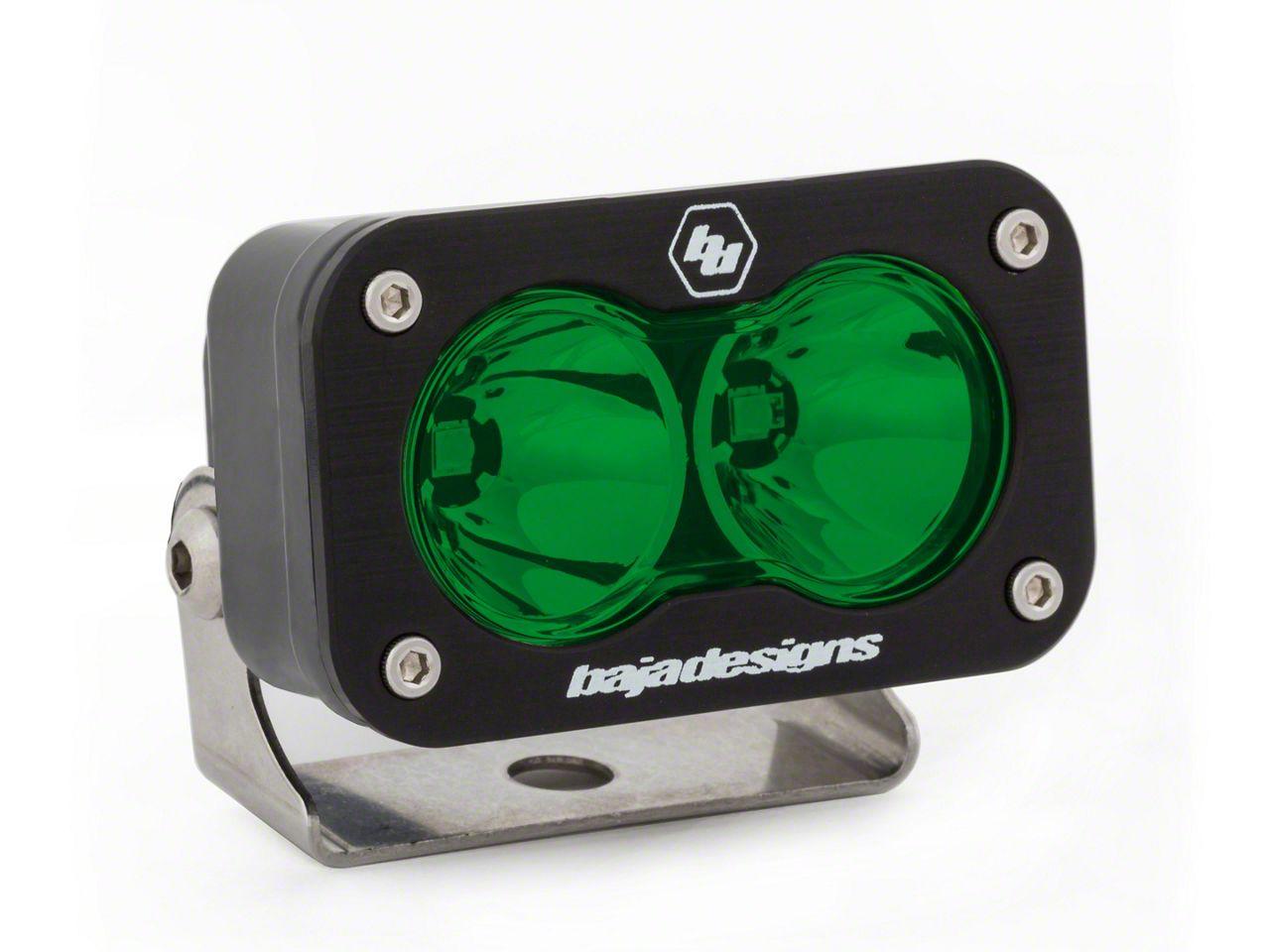 Baja Designs S2 Sport Green LED Light - Spot Beam