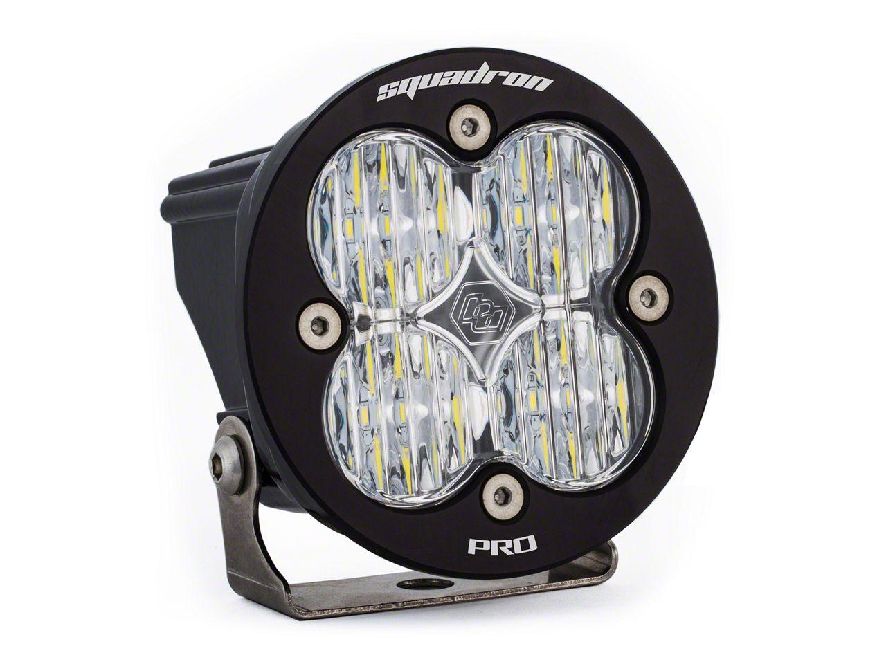 Baja Designs Squadron-R Pro LED Light - Wide Cornering Beam