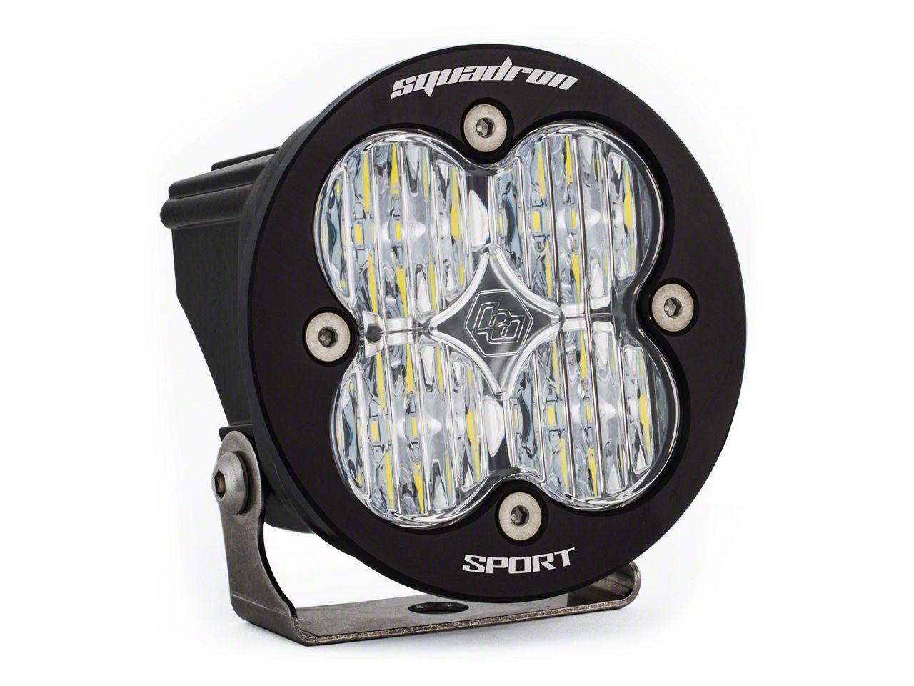 Baja Designs Squadron-R Sport LED Light - Wide Cornering Beam