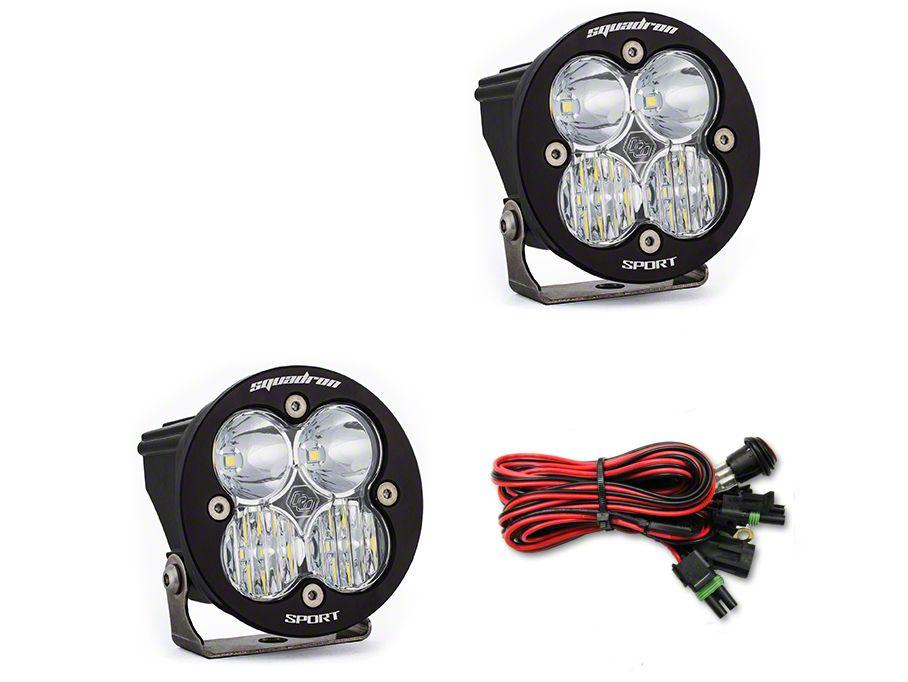 Baja Designs Squadron-R Sport LED Light - Driving/Combo Beam - Pair