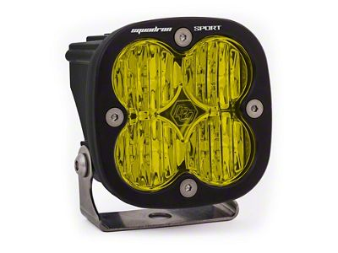 Baja Designs Squadron Sport Amber LED Light - Wide Cornering Beam