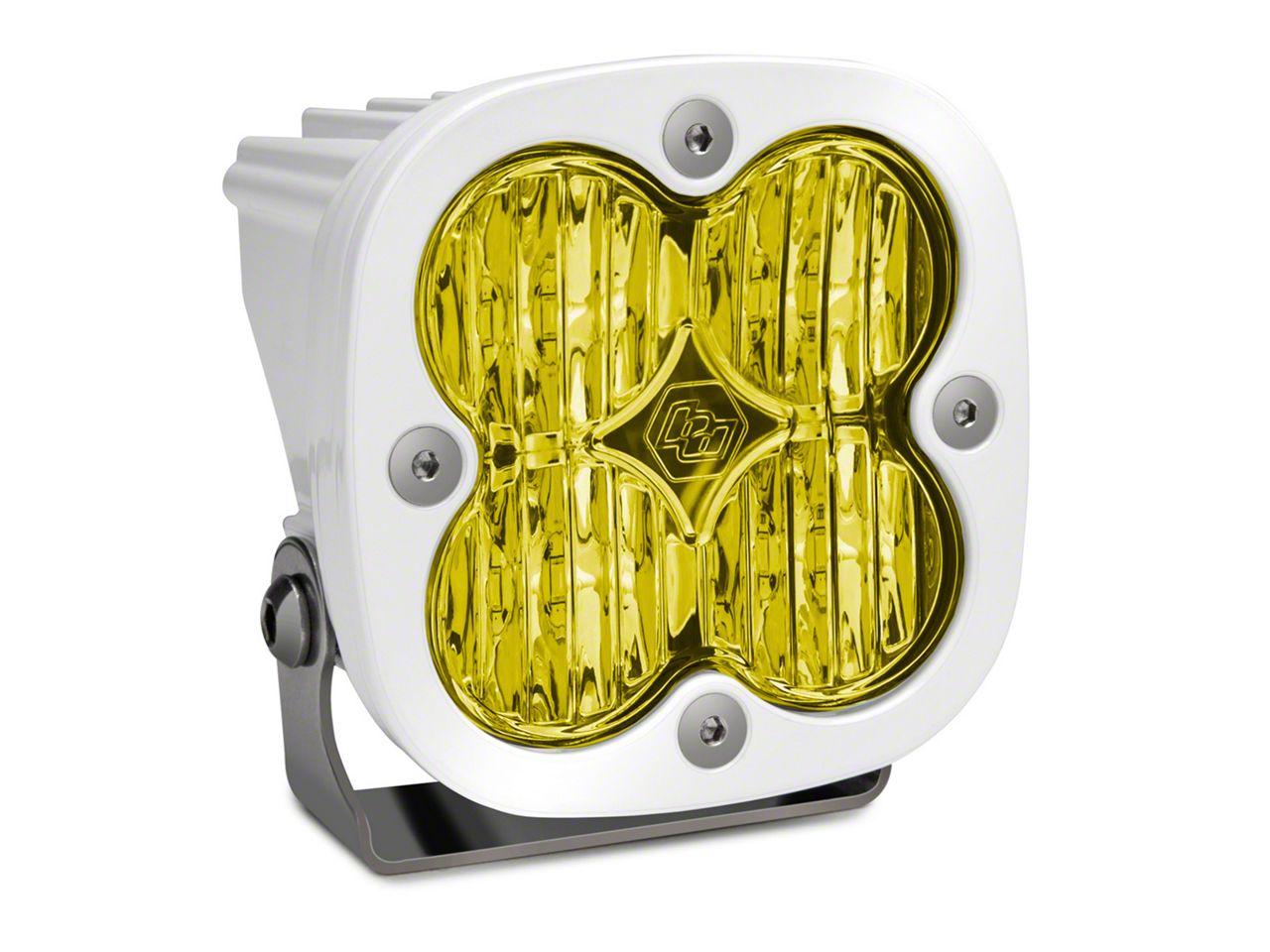 Baja Designs Squadron Sport Amber/White LED Light - Wide Cornering Beam