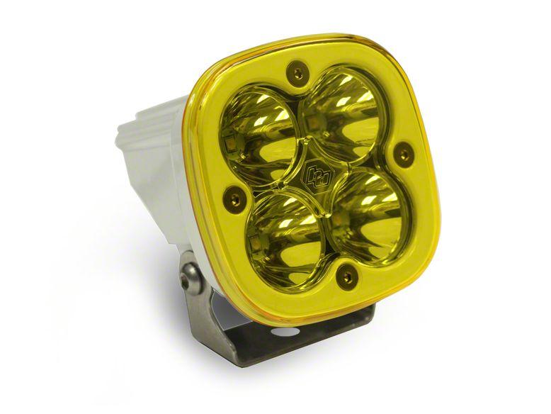 Baja Designs Squadron Sport Amber/White LED Light - Spot Beam