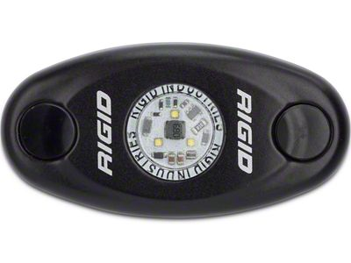 Rigid Industries Black A-Series Low Power LED Light - Warm White