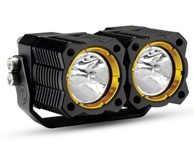 KC HiLiTES FLEX Dual LED Light - Spread Beam